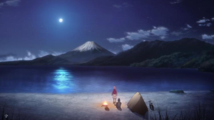 ゆるキャン 富士山